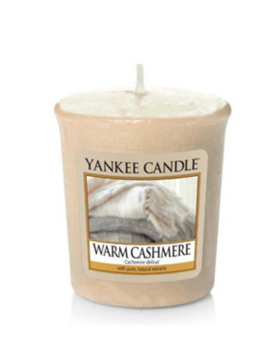 Warm Cashmere Samplers Votive Candle