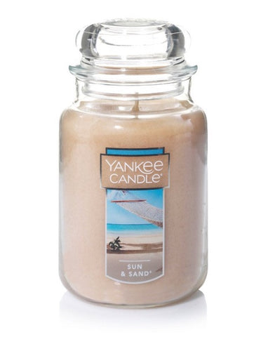 Sun & Sand Large Jar Candle
