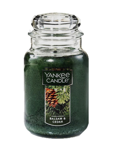Balsam & Cedar Large Jar Candle