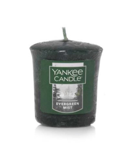 Evergreen Mist Samplers Votive Candle