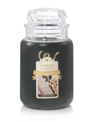 Singing Carols Large Jar Candle