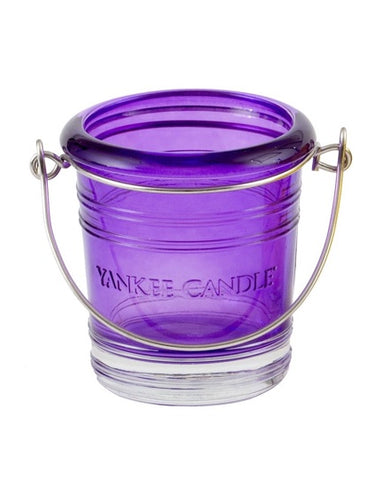 Purple Bucket Votive Holder