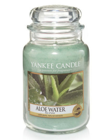 Aloe Water Large Jar Candle