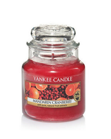 Mandarin Cranberry Small Jar Candle
