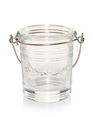 Clear Bucket Votive Holder