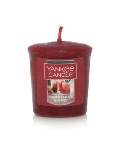 Pomegranate Gin Fizz Samplers Votive Candle