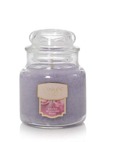 Sweet Morning Rose Small Jar Candle