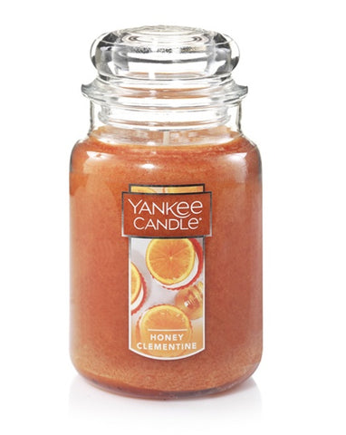 Honey Clementine Large Jar Candle