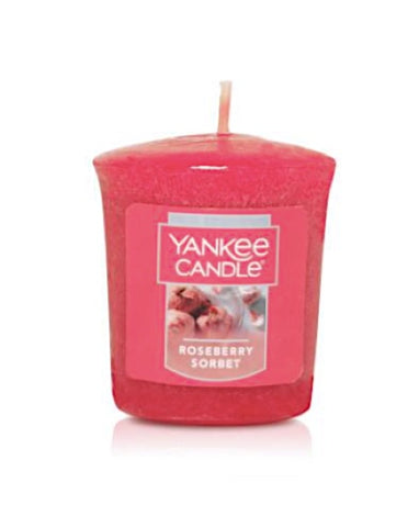 Roseberry Sorbet Samplers Votive Candle