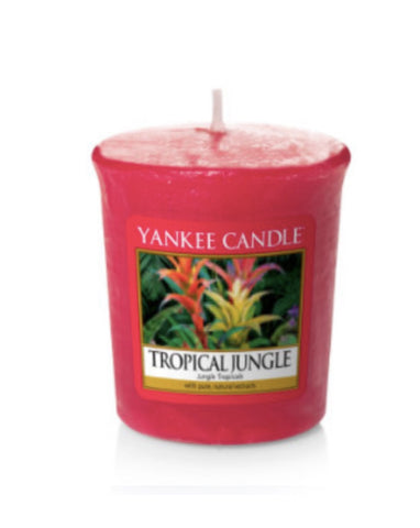 Tropical Jungle Samplers Votive Candle
