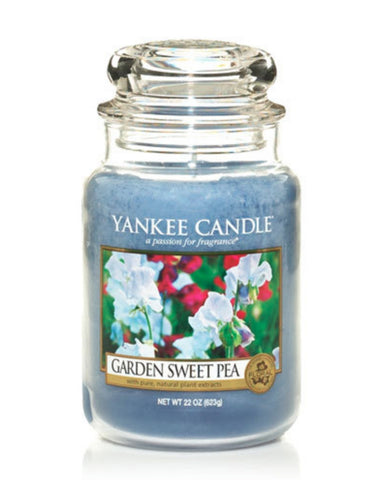 Garden Sweet Pea Large Jar Candle