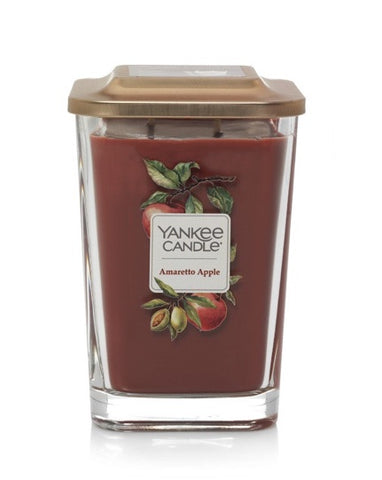 Amaretto Apple Large 2-Wick Square Candle