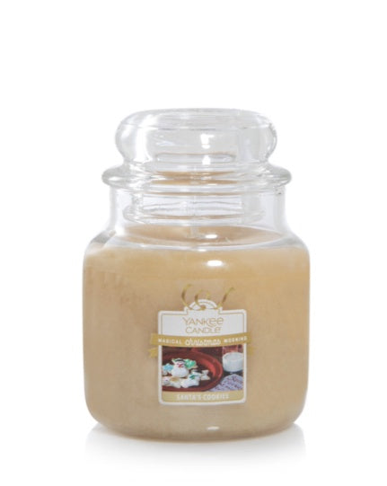Santa's Cookies Small Jar Candle