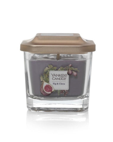 Fig & Clove Small 1-Wick Square Candle