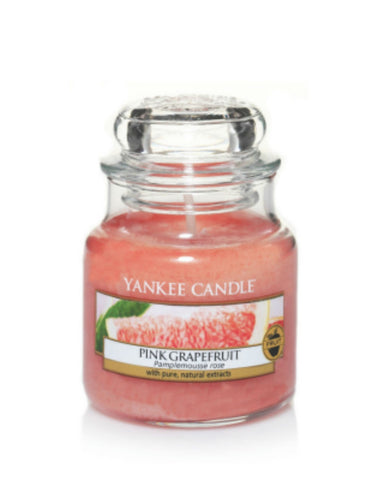 Pink Grapefruit Small Jar Candle