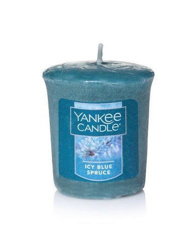 Icy Blue Spruce Samplers Votive Candle