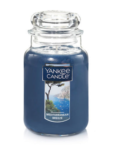 Mediterranean Breeze Large Jar Candle