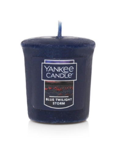 Blue Twilight Storm Sampler Votive Candle