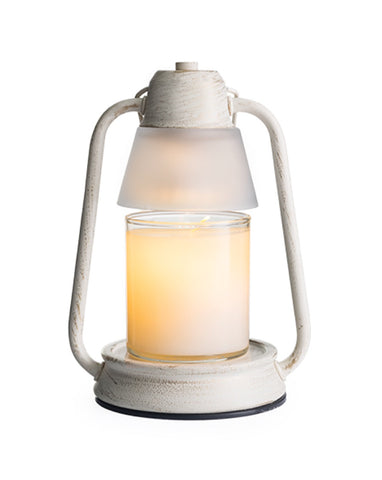 Beacon Brushed Champagne Candle Warmer