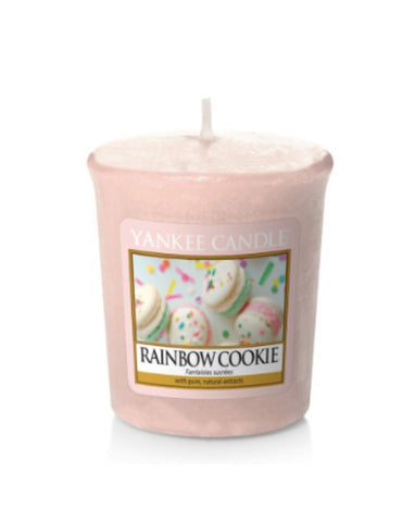 Rainbow Cookie Samplers Votive Candle