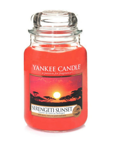 Serengeti Sunset Large Jar Candle