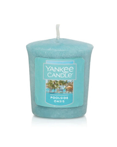 Poolside Oasis Samplers Votive Candle