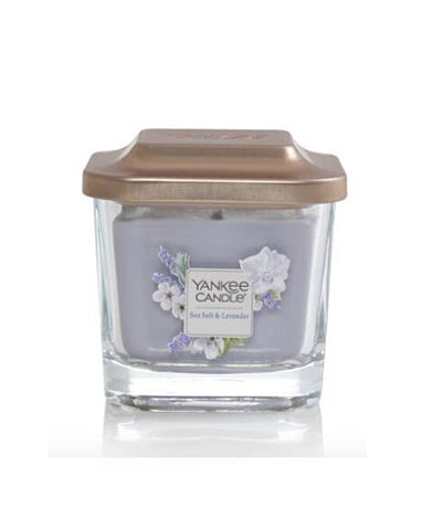 Sea Salt & Lavender Small 1-Wick Square Candle