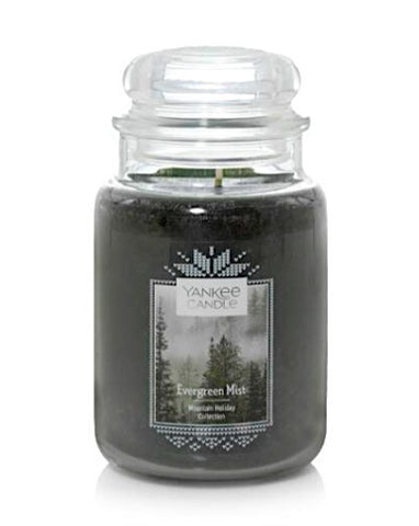 Evergreen Mist Large Jar Candle