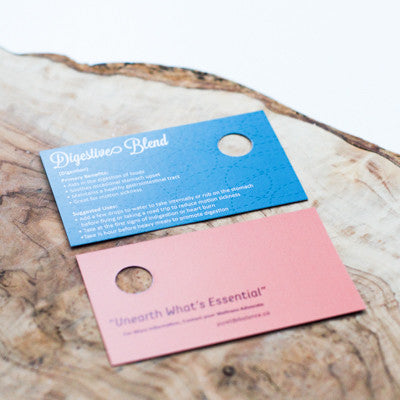 Digestive Blend Sample Cards, Package of 10