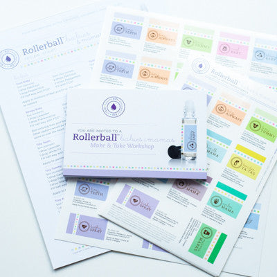 DIY Babies And Mamas Make-and-Take Rollerball Workshop Kit