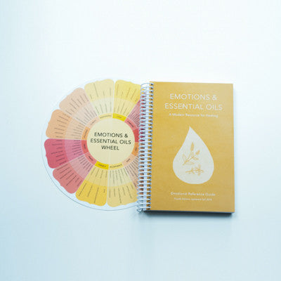 Emotions & Essential Oils Book and Wheel