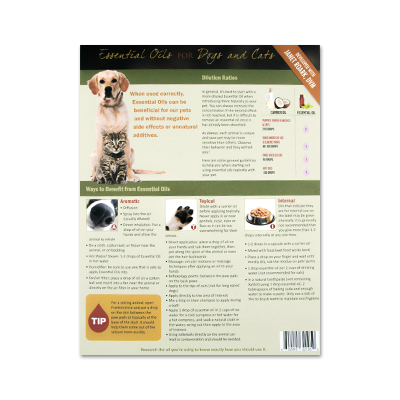 Essential Oils for Dogs and Cats - Developed with Janet Roark, DVM