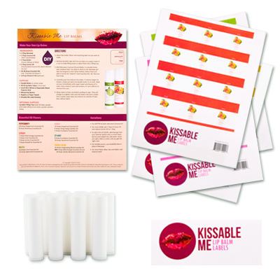 DIY Kissable Me Lip Balm Recipe Kit CLASSROOM Workshop