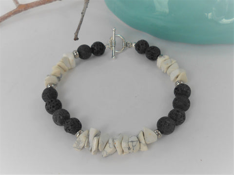 Men's Crown Aromatherapy Bracelet