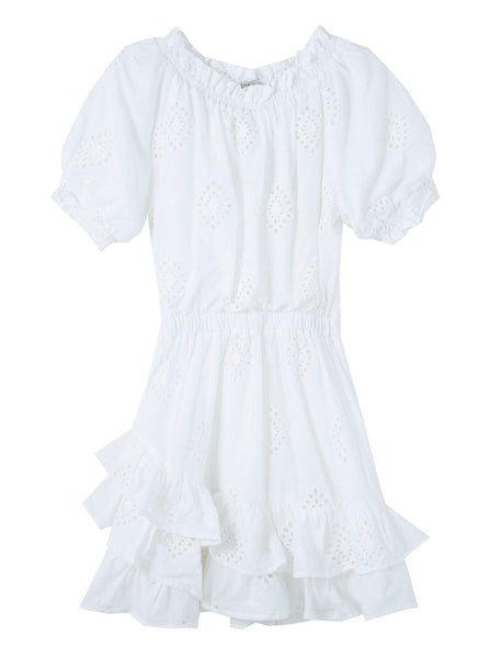 Habitual Cotton Eyelet Dress