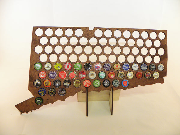 Connecticut Beer Cap Map