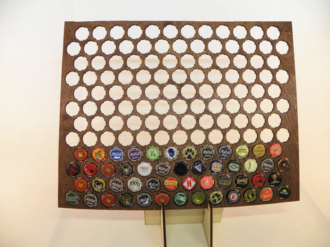 Wyoming Beer Cap Map