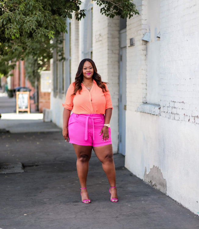 Hot Summer with Hot Plus Size Outfit-2
