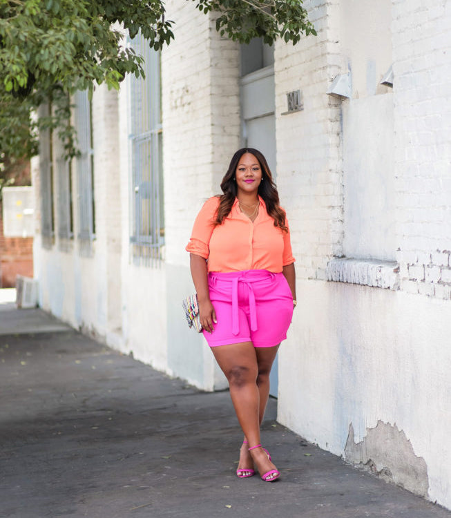 Hot Summer with Hot Plus Size Outfit-5