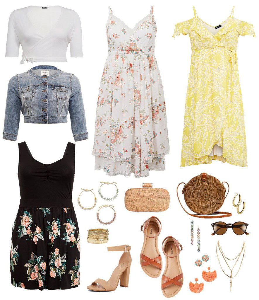 Outfits Ideal for Plus Size Weekend Wedding-1