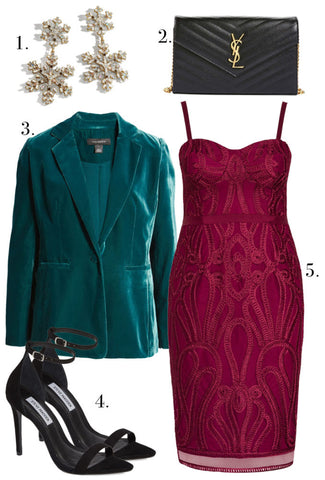 Plus Size Holiday Office Party Outfit Ideas-1
