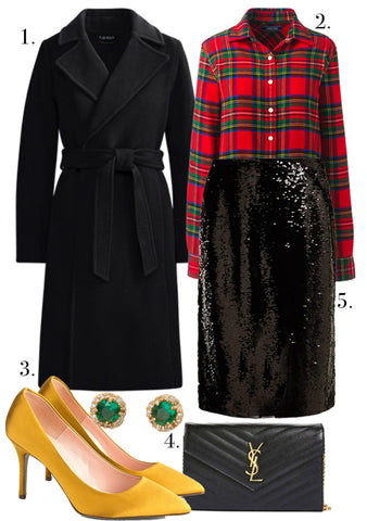 Plus Size Holiday Office Party Outfit Ideas-3