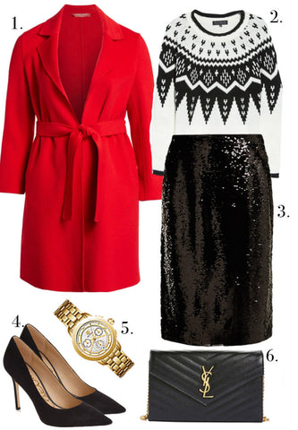 Plus Size Holiday Office Party Outfit Ideas-4