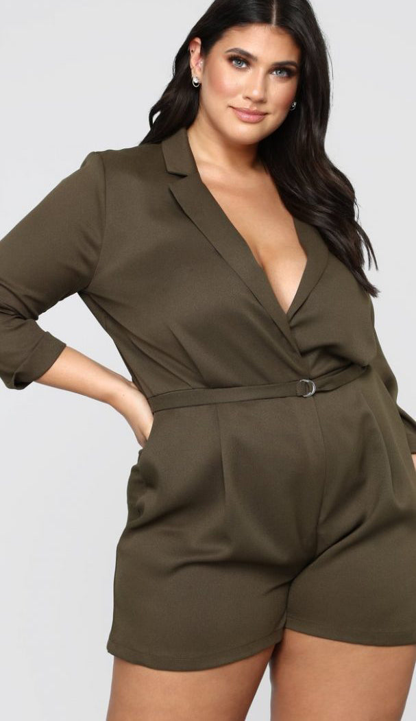 Plus Size Romper for This Summer-1