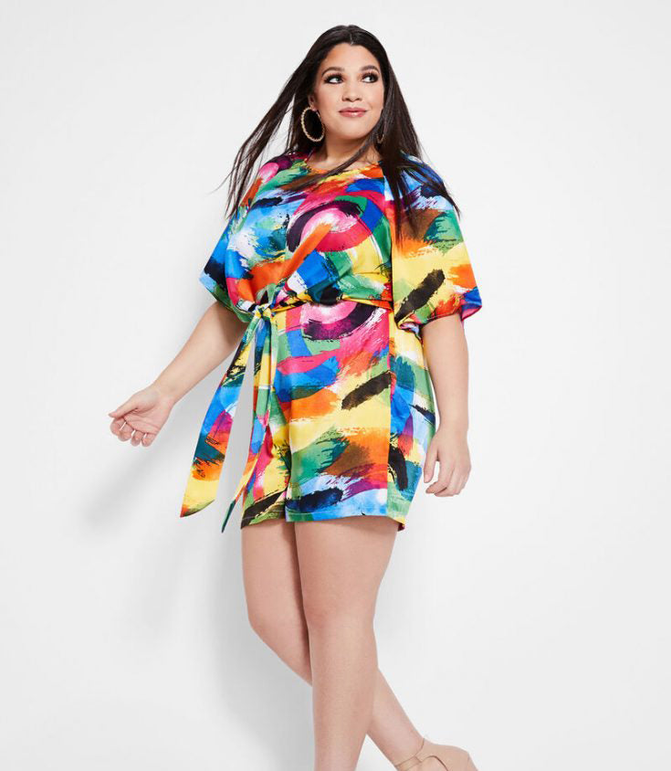 Plus Size Romper for This Summer-4