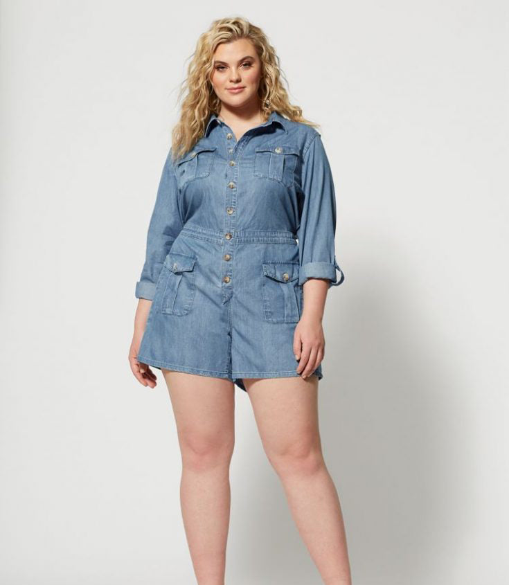 Plus Size Romper for This Summer-5