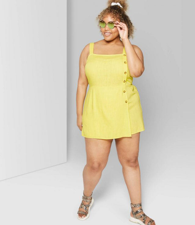 Plus Size Romper for This Summer-6