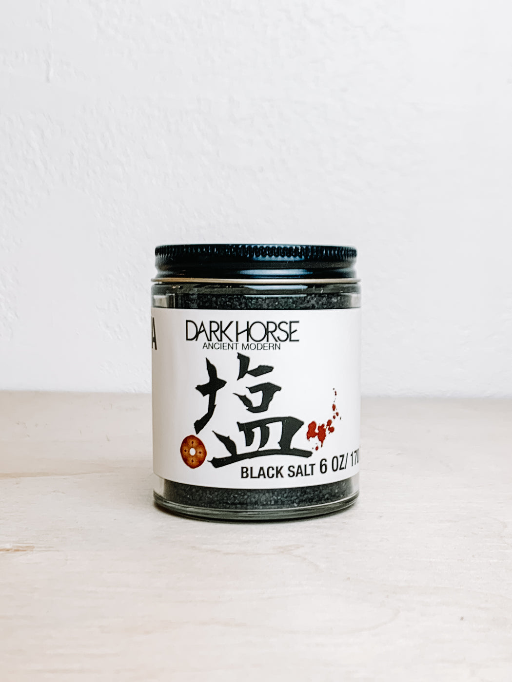 Dark Horse Organics- Black Lava Salt