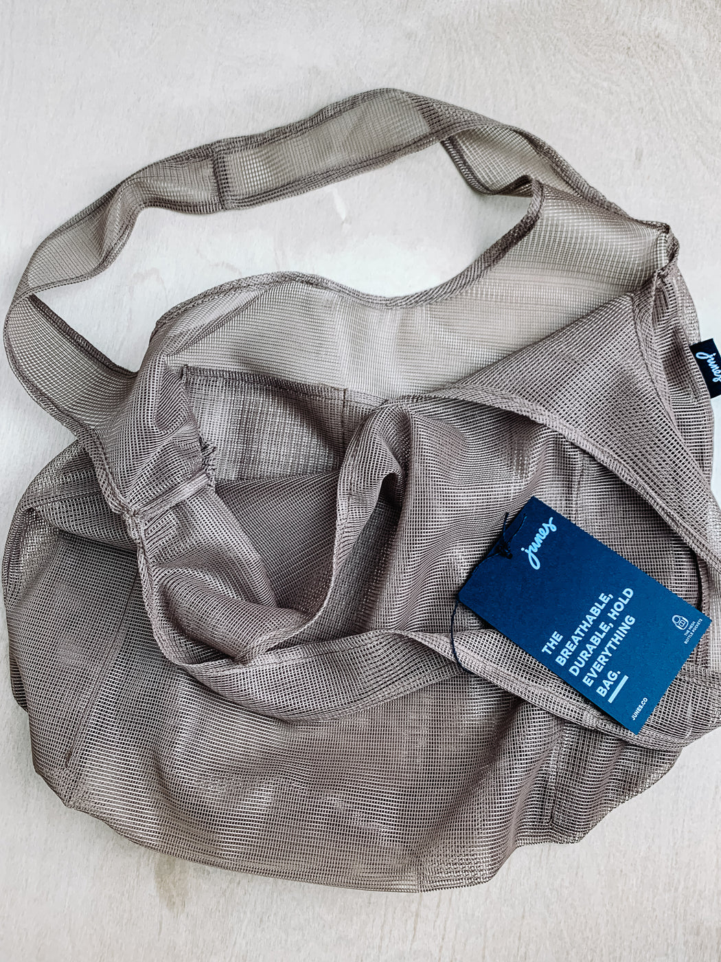 Junes Bags- Everyday Reusable Bag with Bottle Pockets