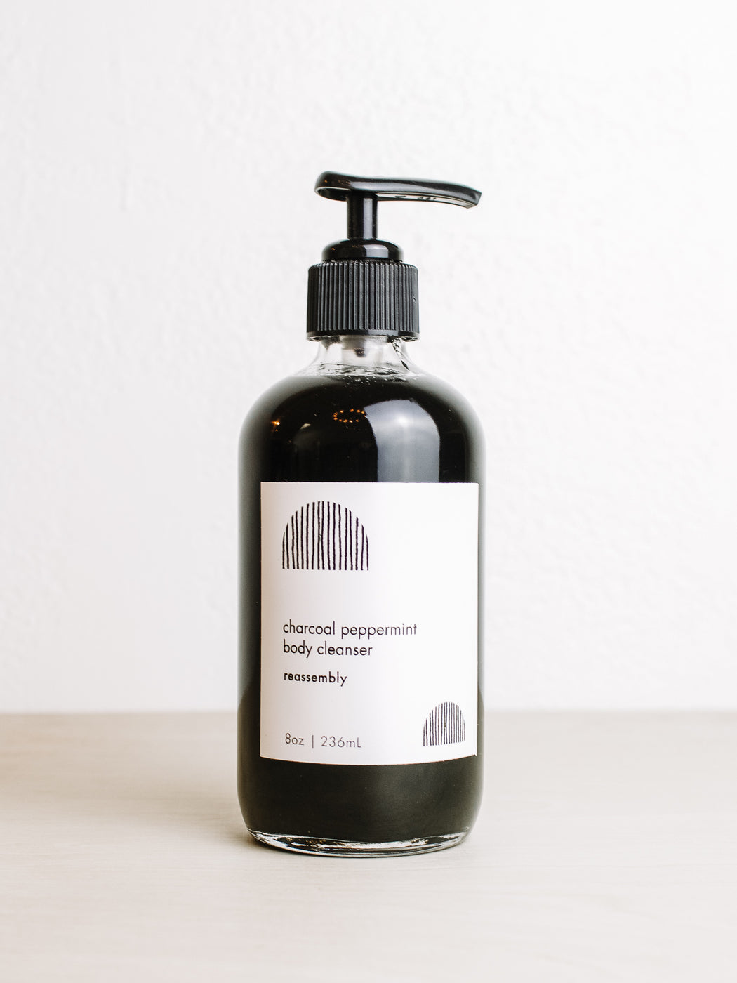 Reassembly-Charcoal Peppermint Body Cleanser
